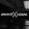 Krooked X adidas Skateboarding.