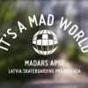 ‪Madars Apse – Latvia Skateboarding Propaganda – It's A Mad World – Episodio 19‬