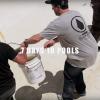 """""""7 Days 10 Pools"""" con Volcom crew."""
