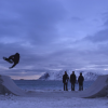 NORTHBOUND | Skateboarding on Frozen Sand.