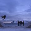 NORTHBOUND | Skateboarding on Frozen Sand.