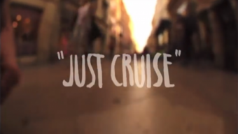 «Just Cruise» Magenta Skateboards