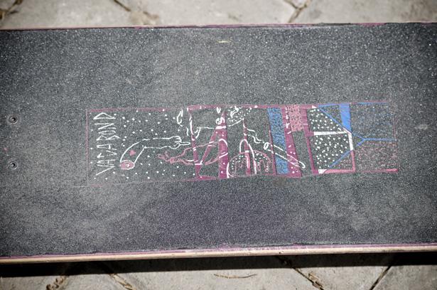 Vagabond board copy