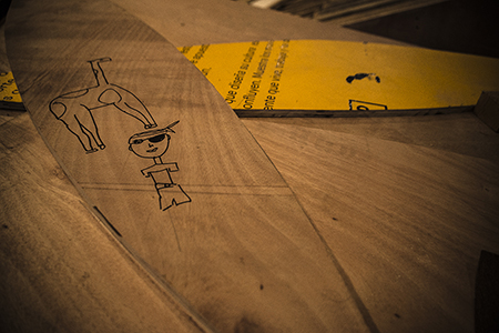 Dibujo en madera_OlmanTorres
